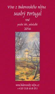 MODRÝ PORTUGAL 2016 přední